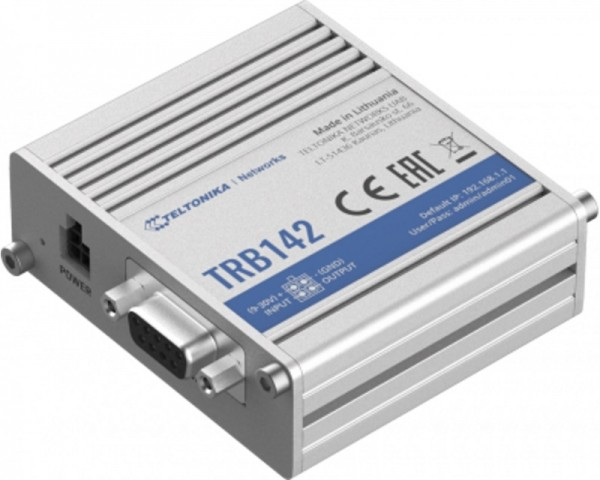 TELTONIKA Router TRB142 LTE RS232 Gateway