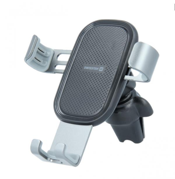 Swissten Auto-drzac Ventilacija S-grip G1-AV3 (Crno-siva)