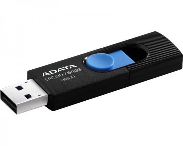 A-DATA 64GB 3.1 AUV320-64G-RBKBL crno plavi