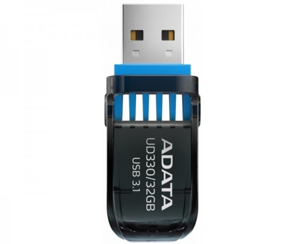 A-DATA 32GB 3.1 AUD330-32G-RBK crni