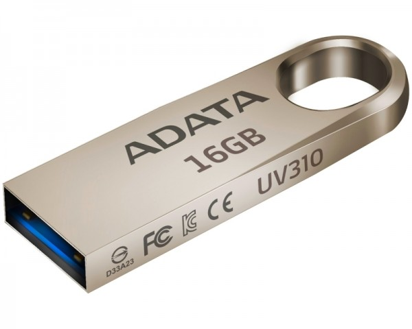 A-DATA 16GB 3.1 AUV310-16G-RGD zlatni