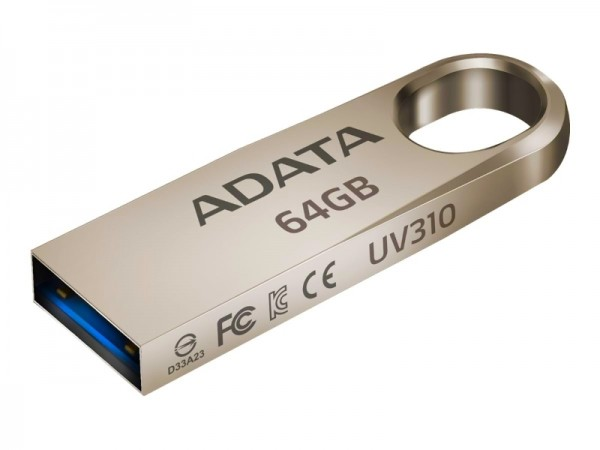 A-DATA 64GB 3.1 AUV310-64G-RGD zlatni