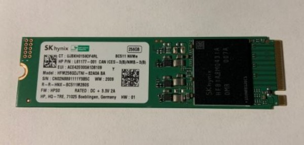 SSD SK Synix 256GB M.2 BC511 HFM256GDJTNI-82A0 Bulk