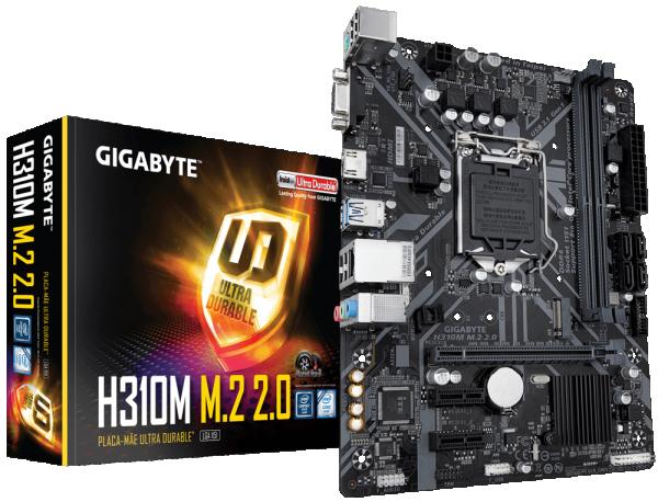 MB s1151 Gigabyte H310M M.2 2.0 1.0