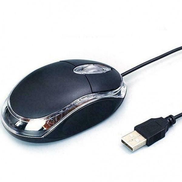 Mouse Lenovo USB M20 Black