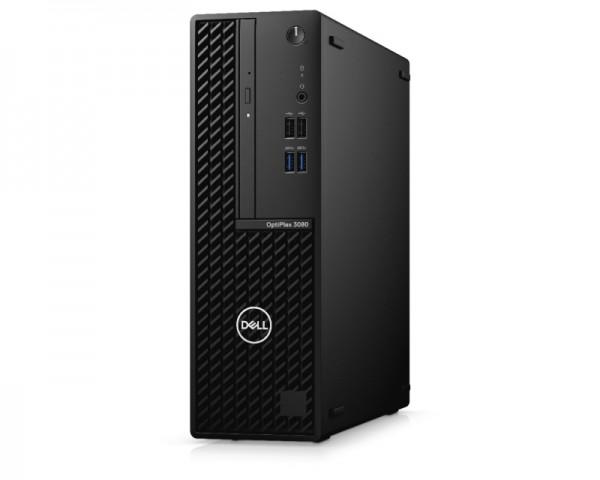 DELL OptiPlex 3080 SF i3-10100 8GB 256GB SSD DVDRW Ubuntu 3yr NBD