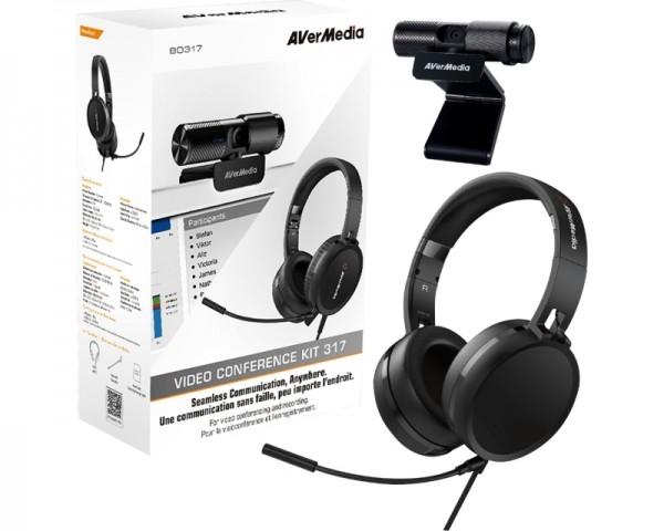 AVERMEDIA Video Conference Kit 317 kamera + slušalice