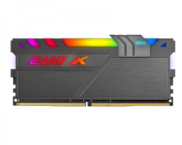 GEIL DIMM DDR4 16GB 3200MHz EVO X II RGB GAEXSY416GB3200C16BSC