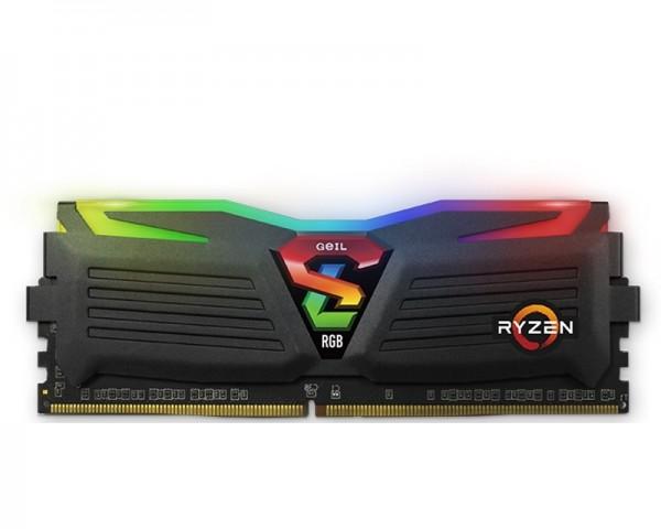 GEIL DIMM DDR4 8GB 3200MHz Super Luce RGB AMD Edition GALS48GB3200C16BSC