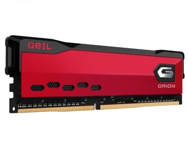 GEIL DIMM DDR4 8GB 3600MHz Orion AMD Edition Red GAOR48GB3600C18BSC