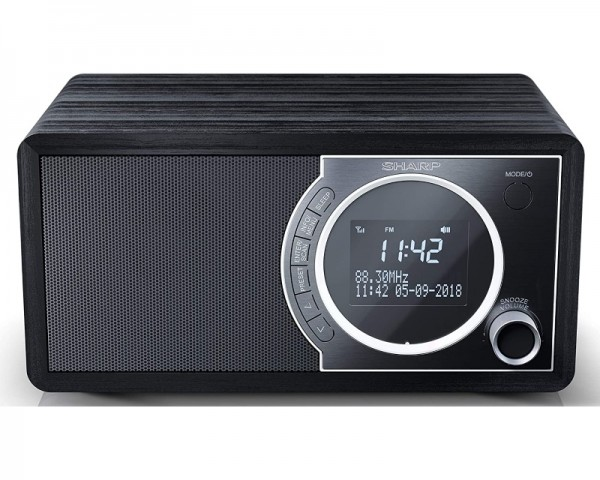 SHARP DR-450BK Digitalni bluetooth radio