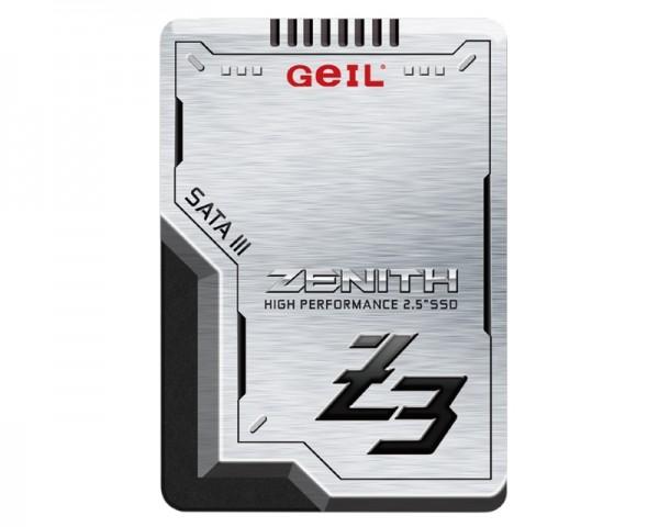 GEIL 256GB 2.5'' SATA3 SSD Zenith Z3 GZ25Z3-256GP