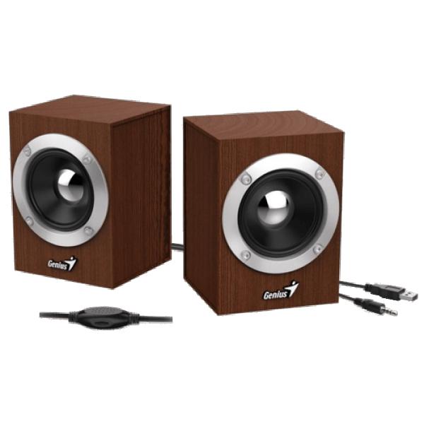 GENIUS Zvučnici za računar SP-HF280 WOOD (Braon)