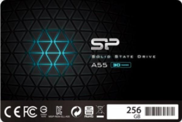 SSD Silicon Power 2.5'' SATA A55 256GB SP256GBSS3A55S25 bulk