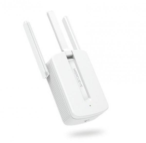 Mercusys Wi-Fi Range Extender MW300REv3 3x antenna with MIMO 300Mbps