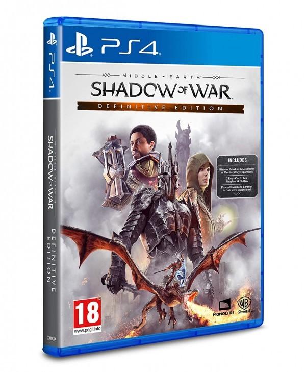 Video igra PS4 SHADOW OF WAR: DEFINITIVE EDITION