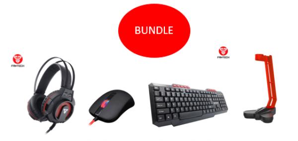 FANTECH Bundle BTS (tastatura+miš+slušalice+stalak za slušalice)