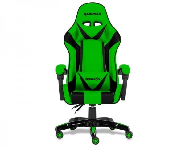 RAIDMAX DRAKON DK602 Gaming Stolica zelena