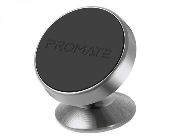 PROMATE MAGNETTO-2 Univerzalni držač za kola 360° srebrni