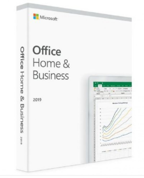 Software Office Home&Business 2019 PCMAC, FPP english T5D-03308