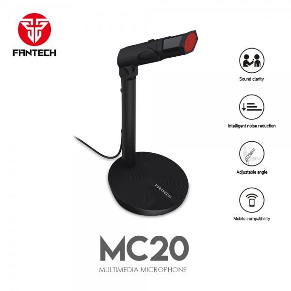 FANTECH Mikrofon MC20 (Crna)
