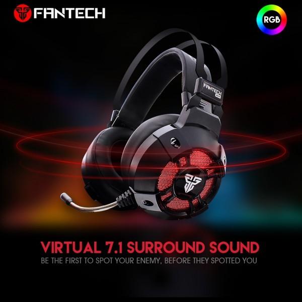 FANTECH Gaming Slušalice HG11 Captain (Crna)