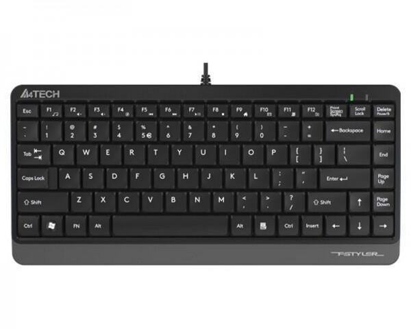 A4 TECH FK11 FSTYLER USB US siva tastatura