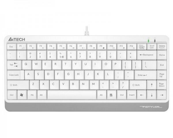 A4 TECH FK11 FSTYLER USB US bela tastatura