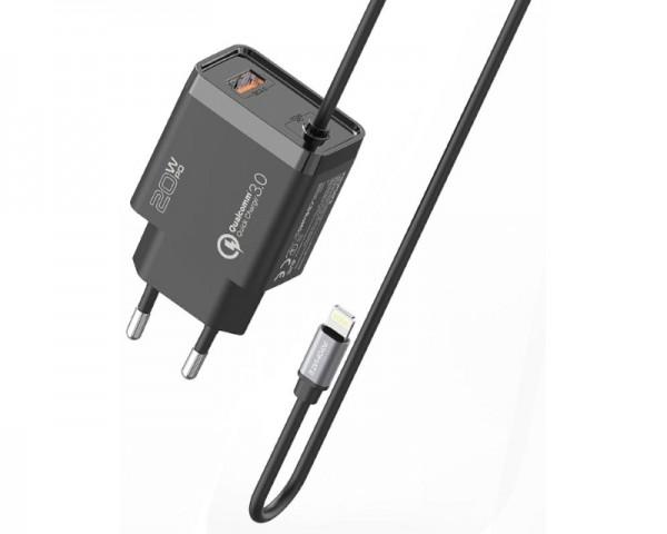 PROMATE iCharge-PDQC3 Ultra-Fast punjač za USB-A beli