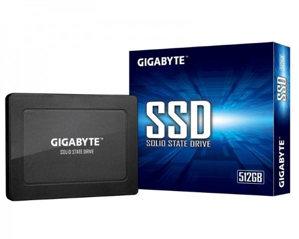 GIGABYTE 512GB 2.5'' SATA3 SSD GP-GSTFS31512GNTD-V