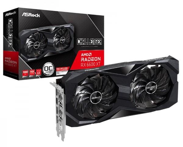 ASROCK AMD Radeon  RX 6600 XT 8GB 128bit RX6600XT CLD 8GO
