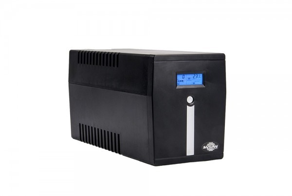 UPS 800VA Samurai SMART 800 LCD 480W Schuko
