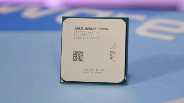 CPU AM4 AMD Athlon 2C4T 3000G (3.5GHz, 5MB, 35W AM4) TRAY with Radeon Vega 3