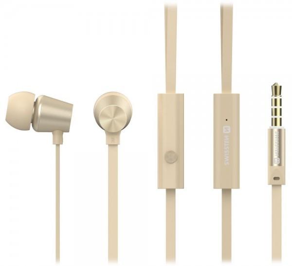 SWISSTEN EARBUDS DYNAMIC YS500 (Zlatna)