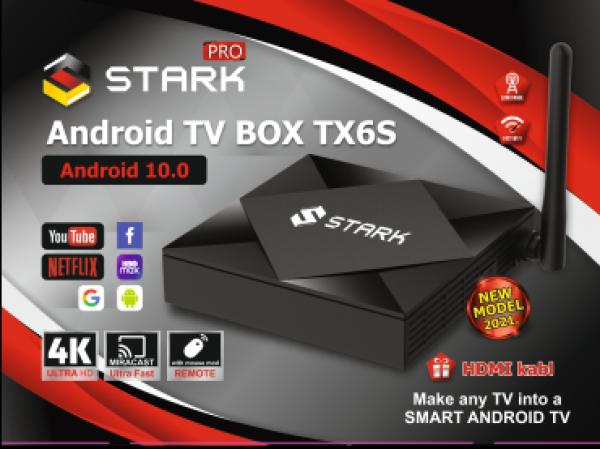 STARK PRO ANDROID TV BOX TX6S