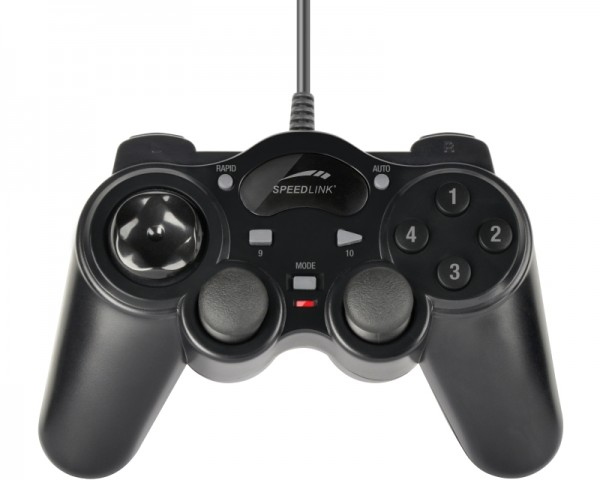 SPEEDLINK Thunderstrike PC gamepad SL-6515-BK