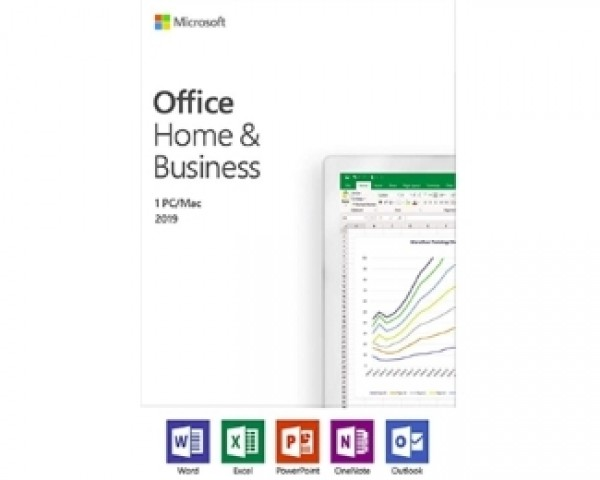 MICROSOFT Office Home and Business 2019 Win Serbian Latin CEE Only Medialess T5D-03284