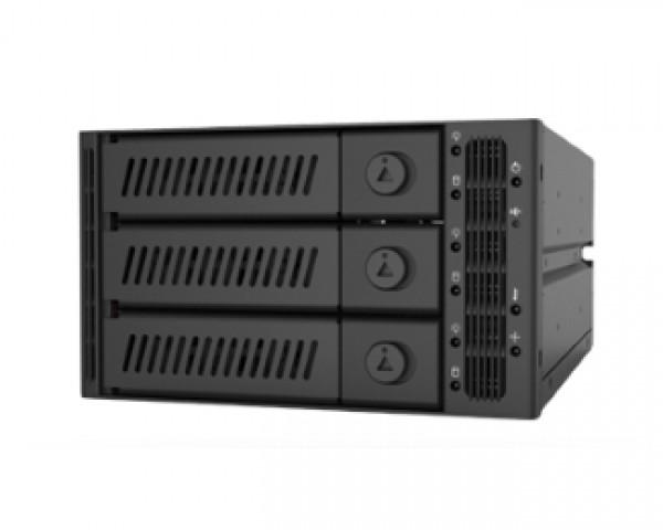 CHIEFTEC CMR-2131SAS 2 x 5.25'' SATA crna fioka za hard disk