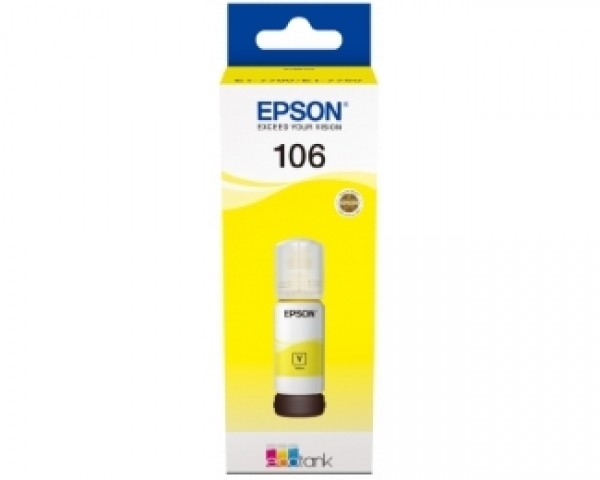 EPSON 106 žuti ketridž