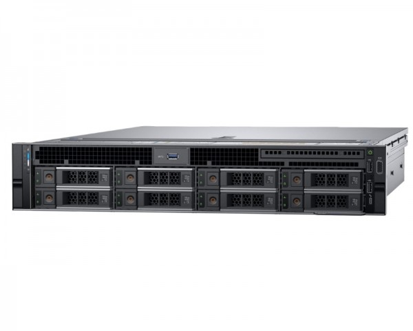DELL PowerEdge R740 Xeon Silver 4110 8C 1x16GB H730P 2x300GB SAS 750W (1+1) 3yr NBD + Sine za Rack