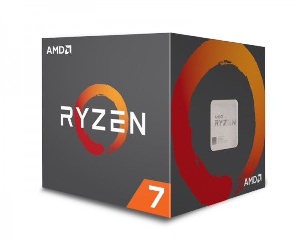 AMD Ryzen 7 2700X 8 cores 3.7GHz (4.3GHz) Box