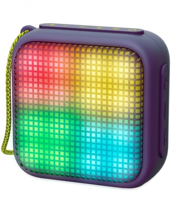 ENERGY SISTEM Beat Box 2+ Lightcube Amethyst portable BT zvučnik