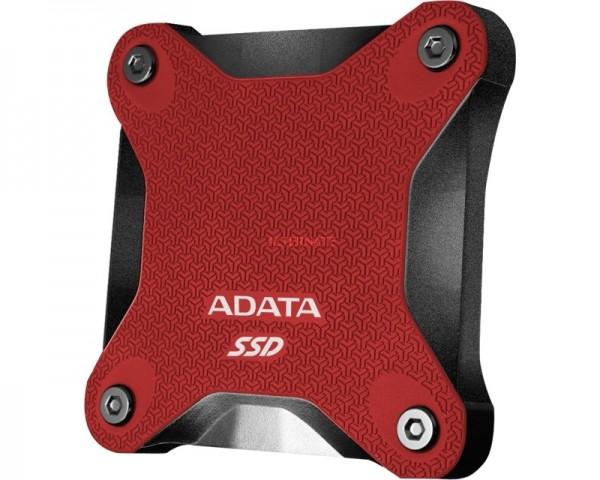 A-DATA 240GB 2.5'' ASD600Q-240GU31-CRD crveni eksterni SSD