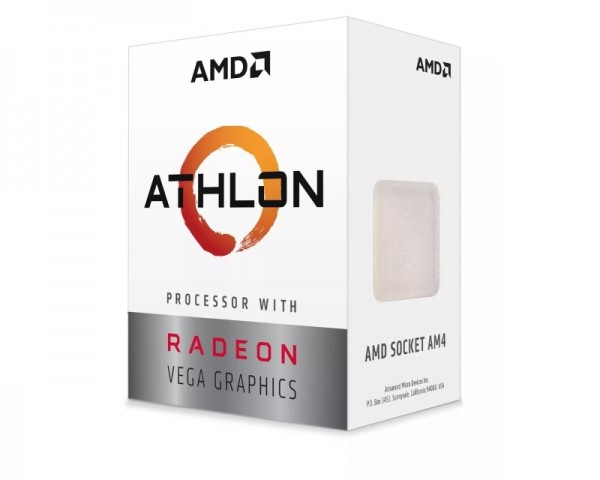 AMD Athlon 200GE 2 cores 3.2GHz Box