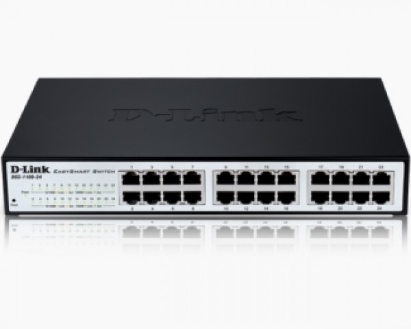 D-LINK DGS-1100-24 24port EasySmart switch
