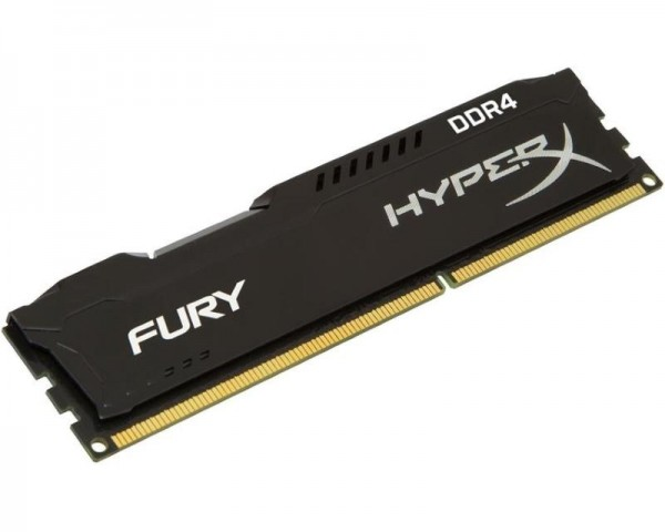 KINGSTON DIMM DDR4 4GB 2400MHz HX424C15FB4 HyperX Fury Black