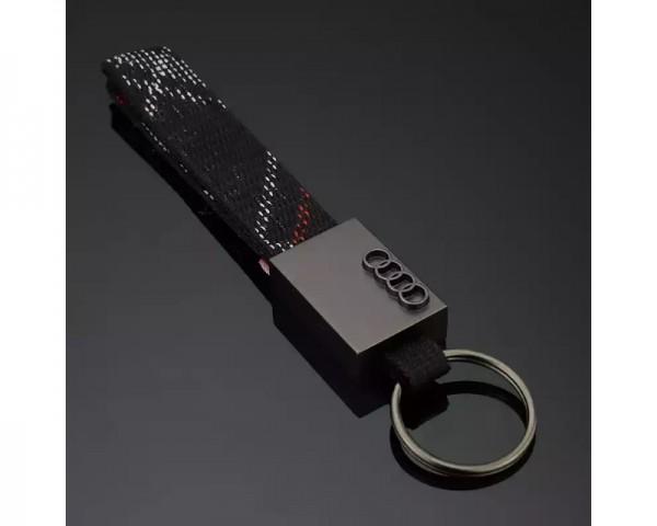 AUDI Privezak za kljuceve Audi sa prstenom i trakom