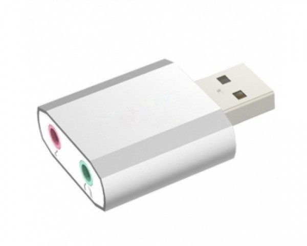 FAST ASIA Zvucna karta USB 2.0 metalna