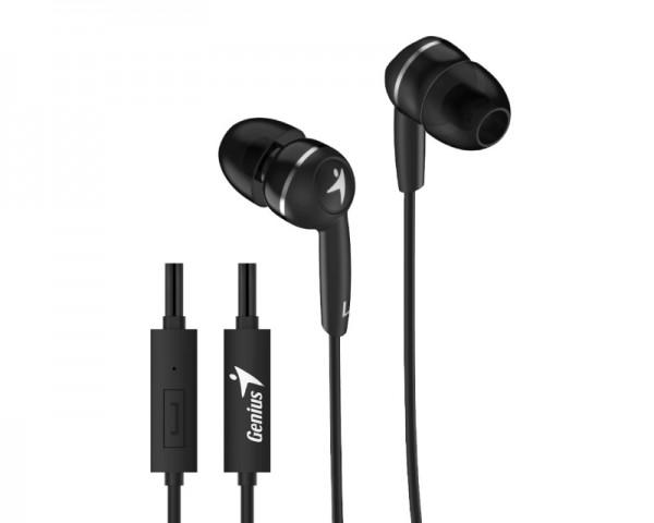 GENIUS HS-M320 slušalice sa mikrofonom crne