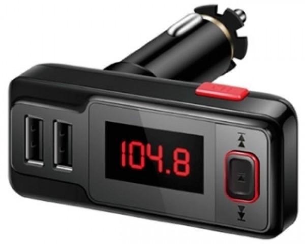 XWAVE FM Transmitter T04 bluetooth crni microSDdual USB + daljinski